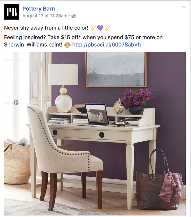 pottery barn sale sherwin-williams