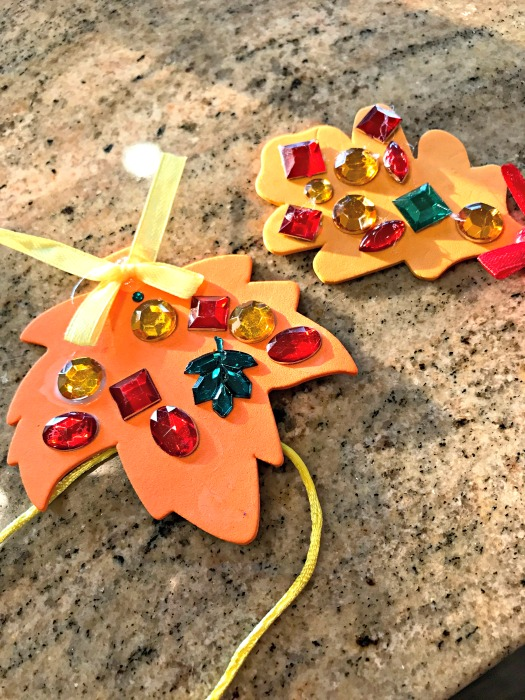 OT fall leaf craft