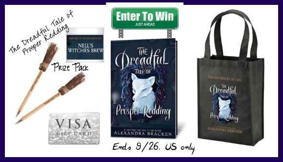The Dreadful Tale of Prosper Redding giveaway