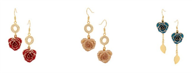 The Eternity Rose gold dipped roses