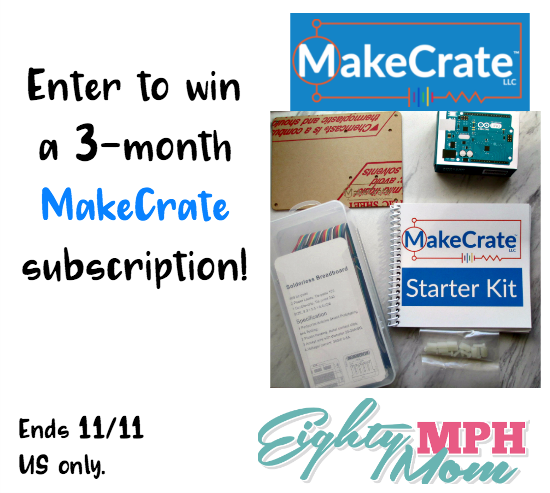 MakeCrate giveaway
