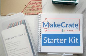 MakeCrate Makes Electronics and Coding FUN