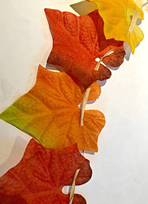 Fake Fall Leaves