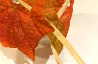 DIY Autumn Leaf Candle Jars