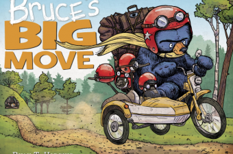 Bruce's Big Move book