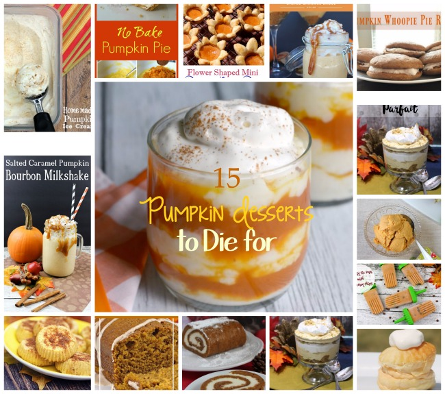 15 Dreamy Pumpkin Desserts to Die for