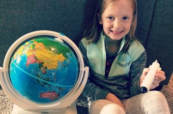 Give the Gift of Learning with Oregon Scientific SmartGlobe Explorer AR! {Review}
