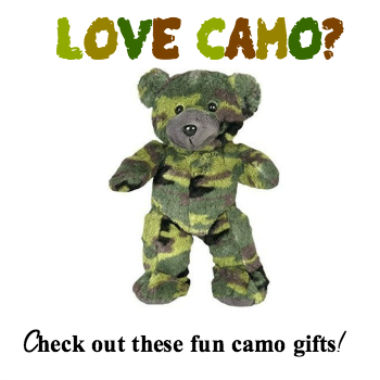 camo gifts for everyone on your list