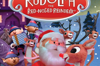 Rudolph the Red Nosed Reindeer Pop-Up Book & Crochet Kit