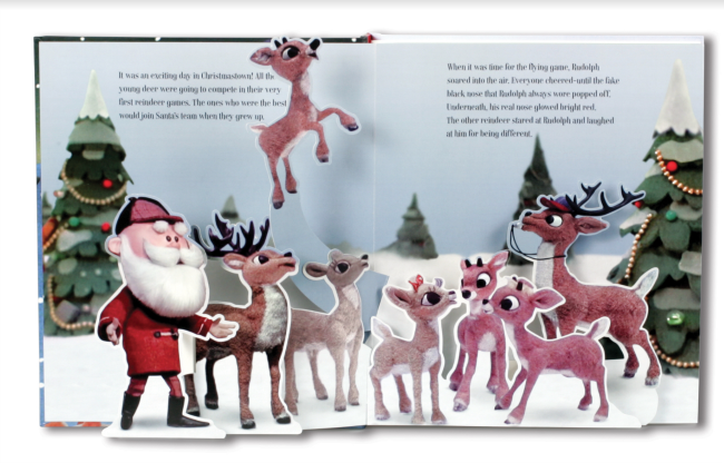 GG Rudolph pop up book 2