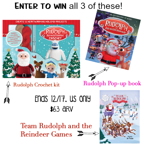 Rudolph giveaway