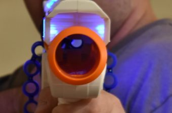 I've Got My Sights Set On the Dart Zone Covert Ops Adventure Force Light Command Blaster