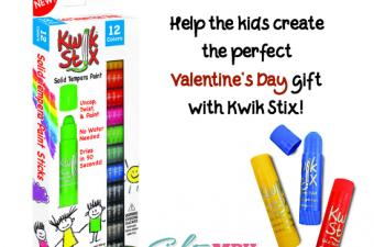 Valentine's Day gifts with Kwik Stix! {Giveaway}
