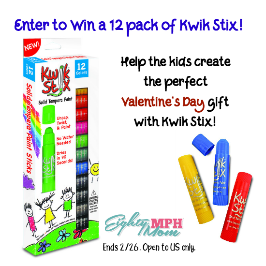 Valentine's Day gifts with Kwik Stix!
