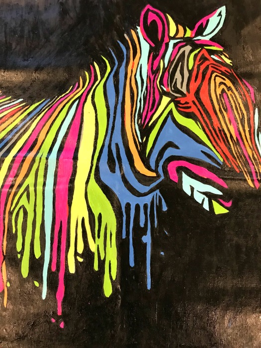 colour talk zebra