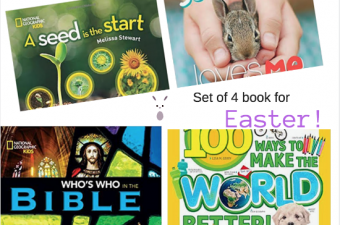 Fun books for Easter! {Giveaway}