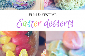 fun & Festive easter desserts