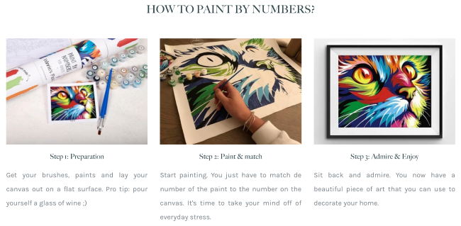paint by number kits for adults