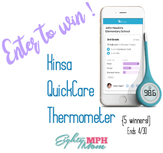 Kensa QuickCare Smart thermometer giveaway