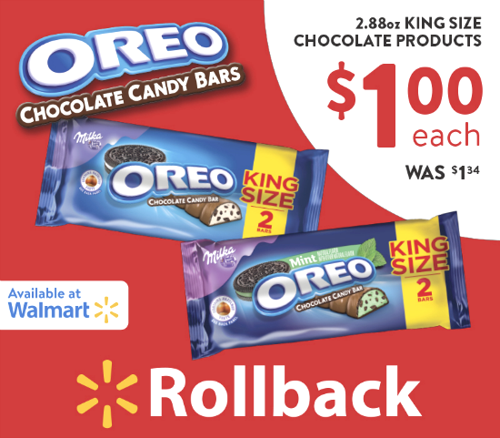 OREO Chocolate King Size Candy Bars