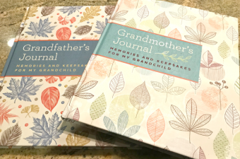 Grandmother's Journal and Grandfather's Journal – priceless keepsakes! {Giveaway}