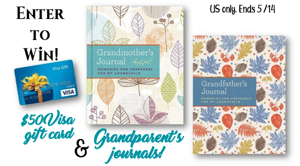 grandparents journals prize pack