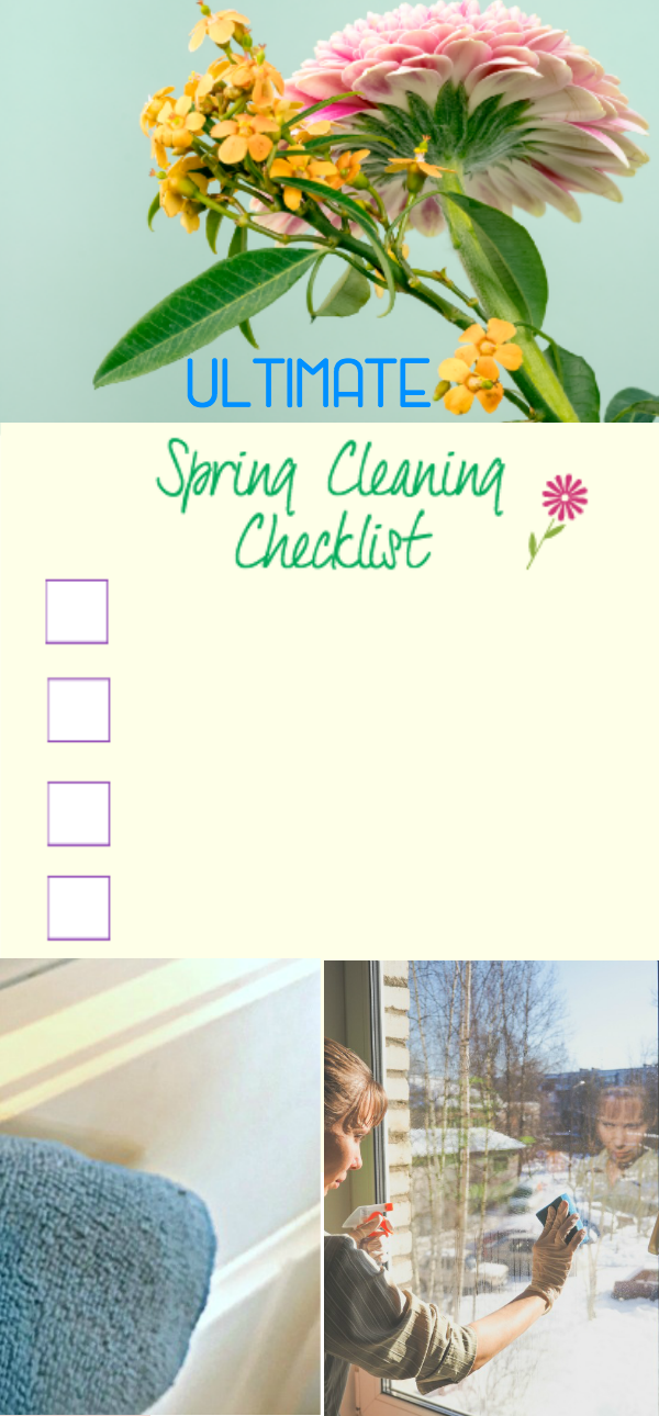 ultimate printable spring cleaning checklist