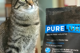 Healthy PureLUXE Elite Series cat food – it's a hit in our house! {Giveaway}