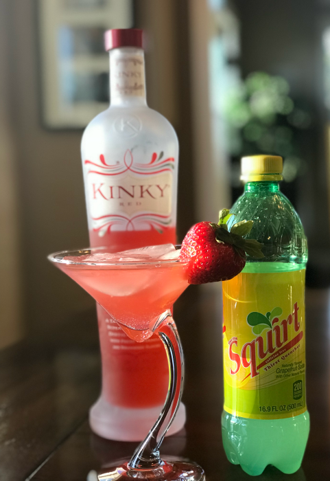 Simple & delicious 2 ingredient cocktail