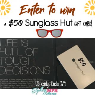 sunglass hut giveaway