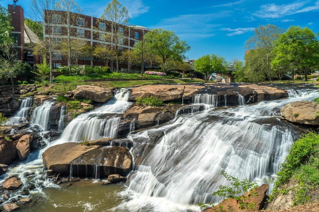 greenville SC Top cities to visit on a budget
