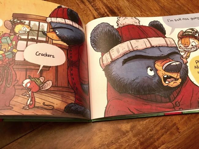 santa bruce book inside