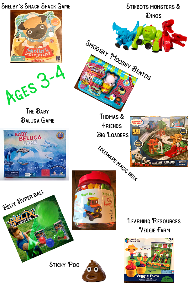2018 Holiday GG ages 3-4