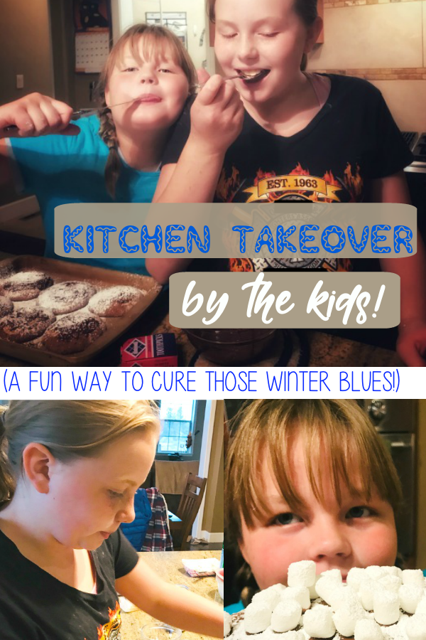 kitchen takeover by the kids