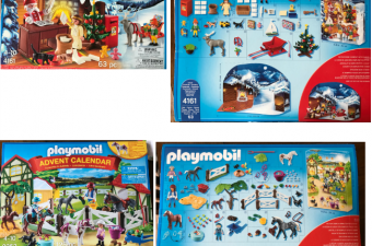 Playmobil Advent Calendars with toys – a toy a day until Christmas!