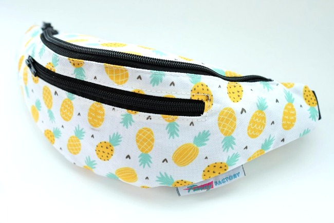 fanny factory pineapple fanny pack