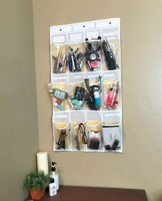 makeup storage solution