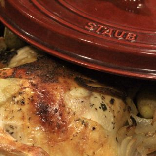 Easy One Pot Roasted Chicken