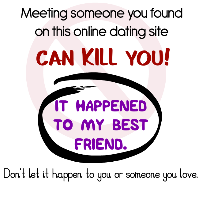 online dating can kill you