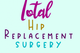 Total hip replacement surgery next week – hold me!