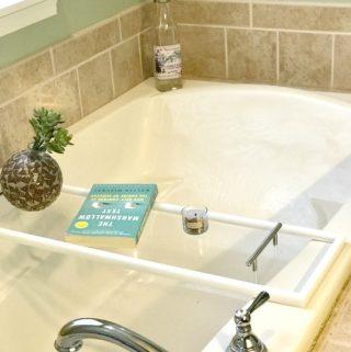 ToiletTree Clear Acrylic bath caddy