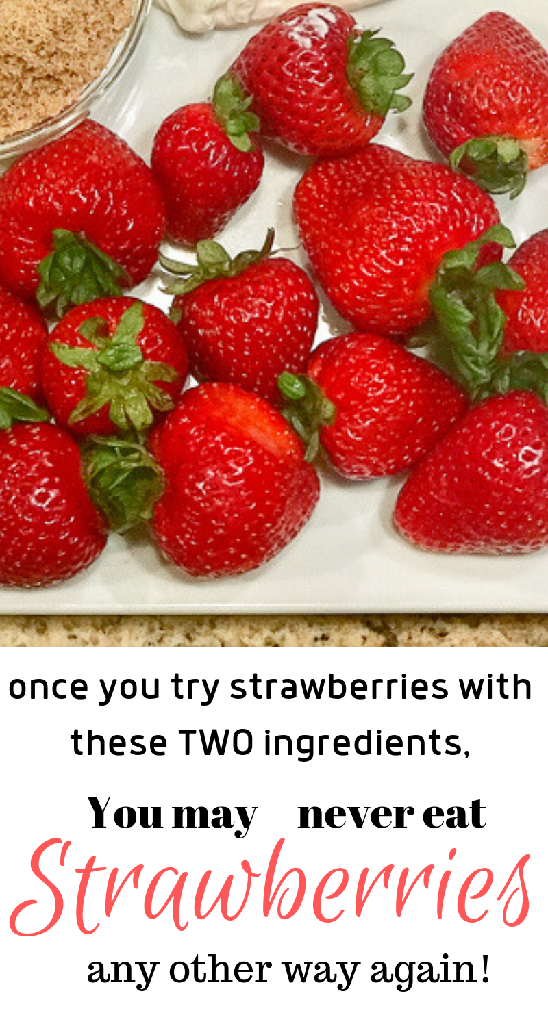 You may never eat strawberries the same way again!