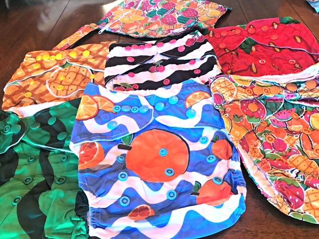 Adjustable reusable diaper covers by Lictin Co.