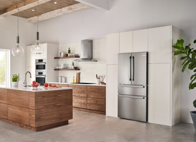 new Bosch counter-depth refrigerator
