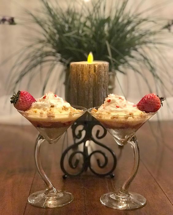 No Bake Sweet Layered Parfaits