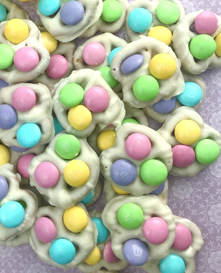easter bunny buttons