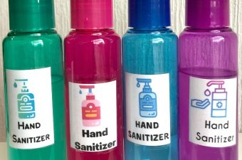 homemade alcohol based hand sanitizer