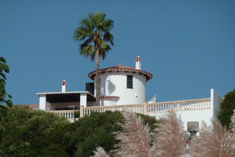 White Spanish Villa