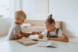 Kids learning